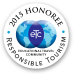 2015 Honoree Responsible Tourism